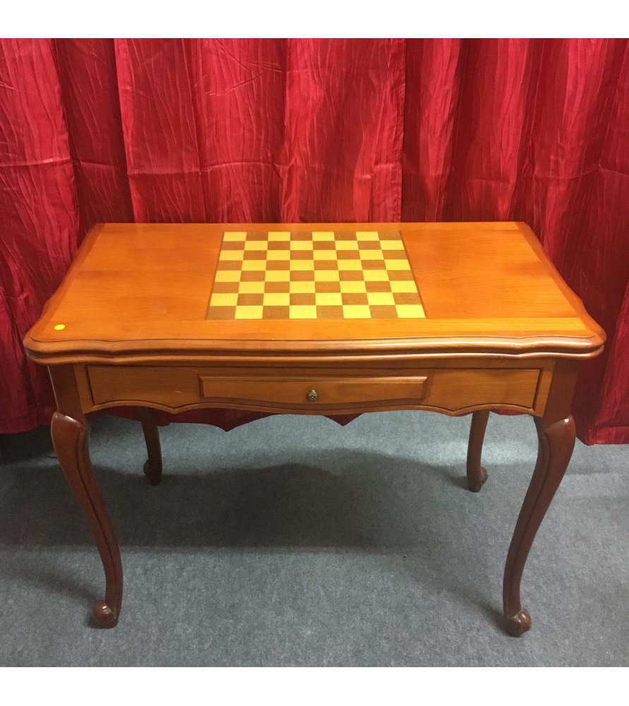 table jeu d 39 chec vendue par notre petite brocante valence. Black Bedroom Furniture Sets. Home Design Ideas