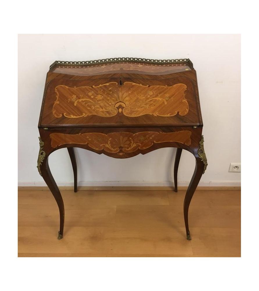 Secrétaire marqueté style Louis XV
