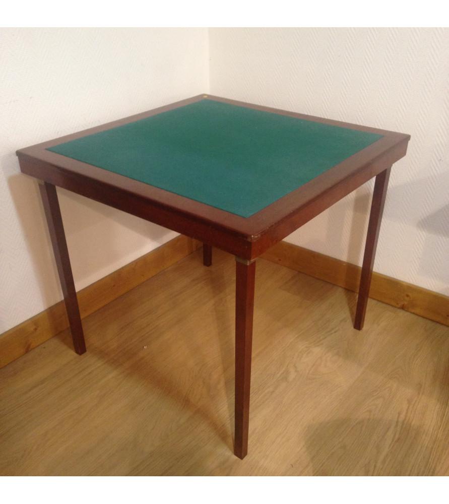 Table de bridge pliante vendue par notre petite brocante for Table bridge