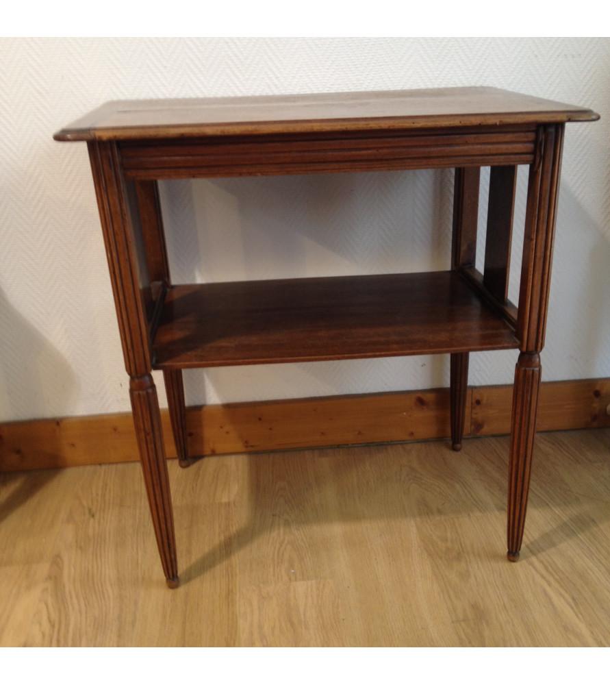 table d 39 appoint 2 plateaux vendue par notre petite. Black Bedroom Furniture Sets. Home Design Ideas