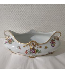 Jardinière en porcelaine de Limoges