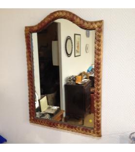 Miroir bords dorés