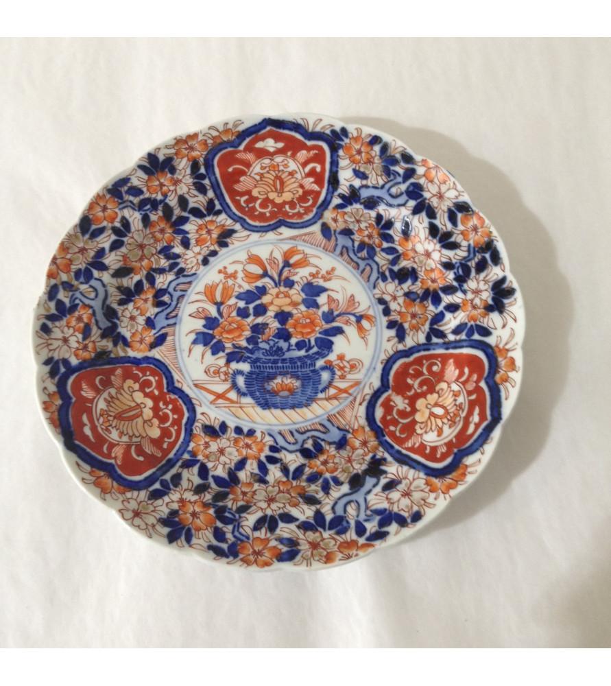 magasin en ligne 8c8c2 93b7d Assiette porcelaine Imari vendue par Notre petite brocante Valence.