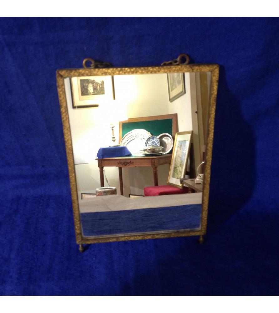 petit miroir ancien vendu par notre petite brocante valence. Black Bedroom Furniture Sets. Home Design Ideas
