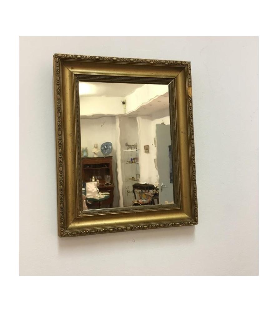 petit miroir dor ancien vendu notre petite brocante valence. Black Bedroom Furniture Sets. Home Design Ideas