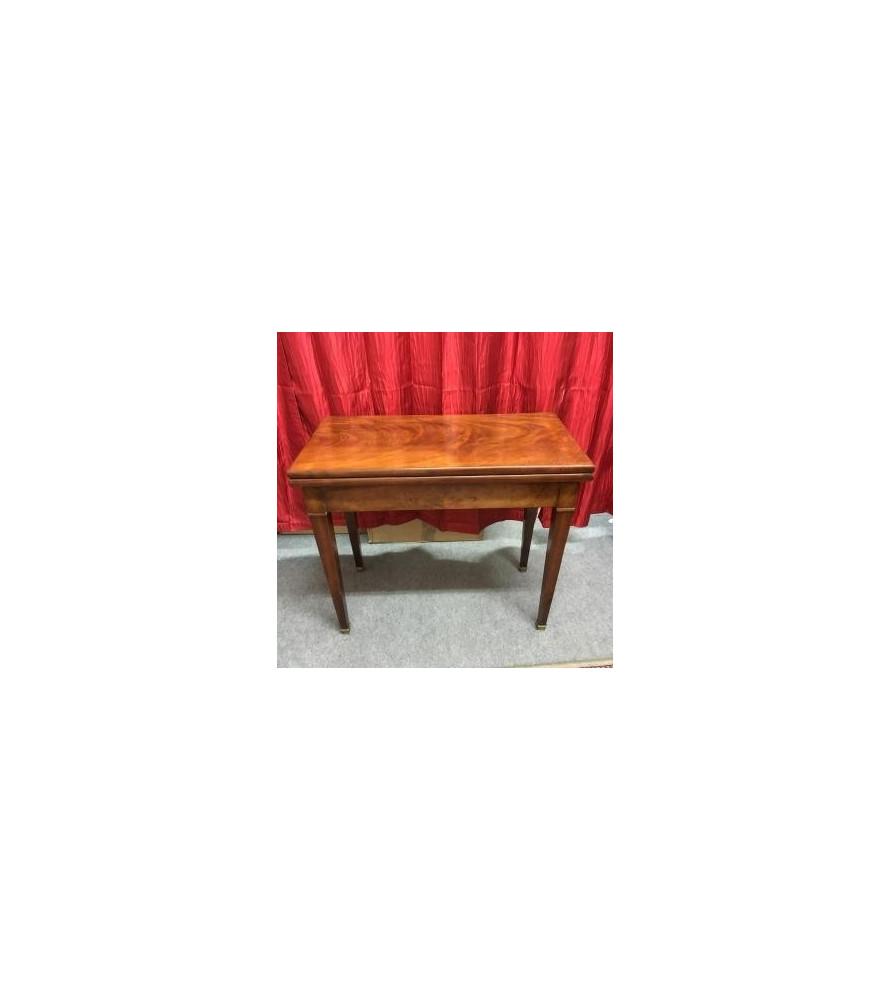 Table à jeux style Louis XVI