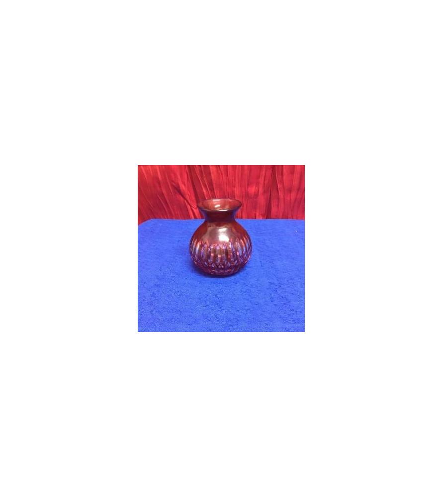 Petit vase en cristal de Bohême