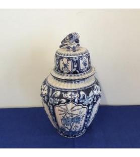 Potiche de Delft bleue