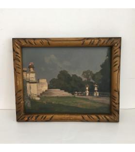 Willaume Louis : Le parc du château de Saint Cloud