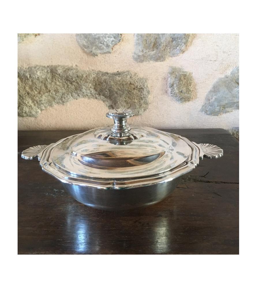 Légumier Christofle en métal argenté