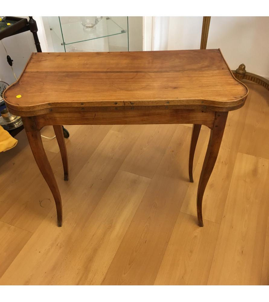 Petite table à jeux Louis XV