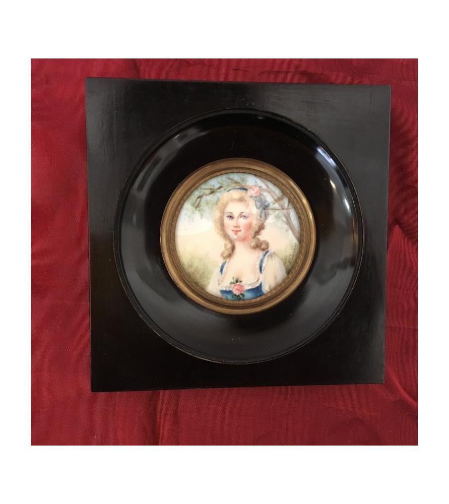 """Miniature """"Portrait de femme de qualité"""""""