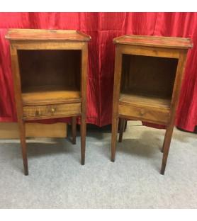 Paire de tables de chevets XIXème
