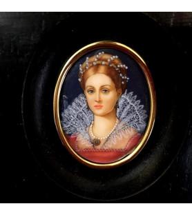 Miniature Anne-Marie de Médicis
