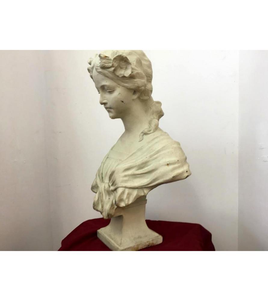 Buste de femme Ecole Française XIXème