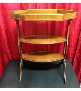 "Table ""tricoteuse"" en acajou"